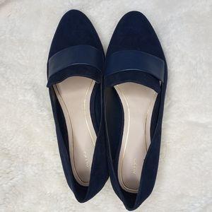 Aldo| Blue Velvet Loafers